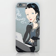 Lisbeth Dragon Smoke iPhone 6 Slim Case