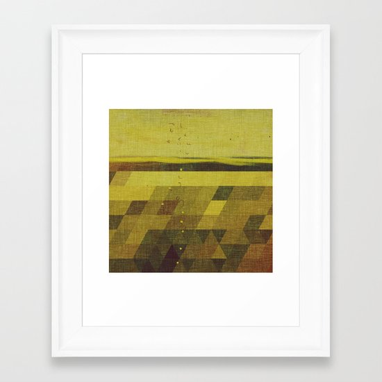 Solidago Meadow Framed Art Print