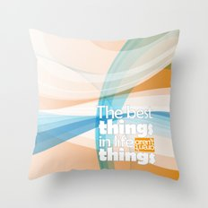 The main things Throw Pillow