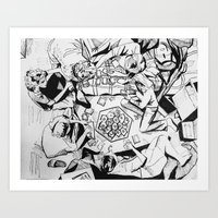 The Game Of Our Generati… Art Print