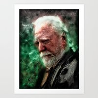 Walking Dead: Hershel Art Print