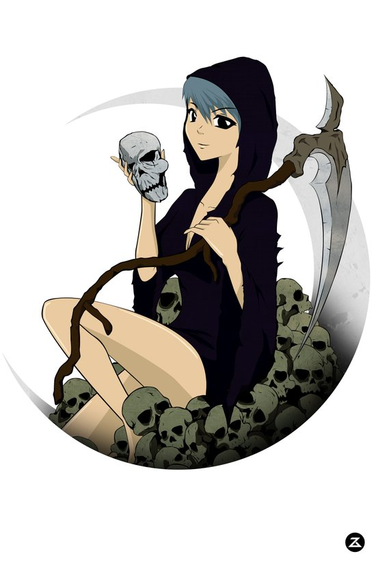 Grim Reaper 2 Art Print
