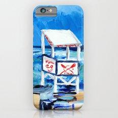 Ocean City Lifeguard Stand iPhone 6 Slim Case