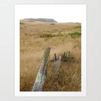 Navaro Bluffs, Dilapidat… Art Print