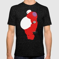 Baymax Mens Fitted Tee Tri-Black SMALL