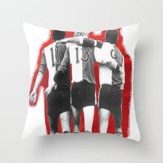 Feyenoord Rotterdam - Hand in hand kameraden Throw Pillow