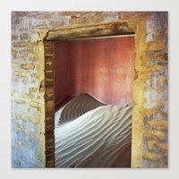 Out - In Canvas Print