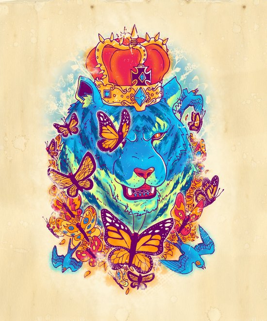 The Siberian Monarch Art Print