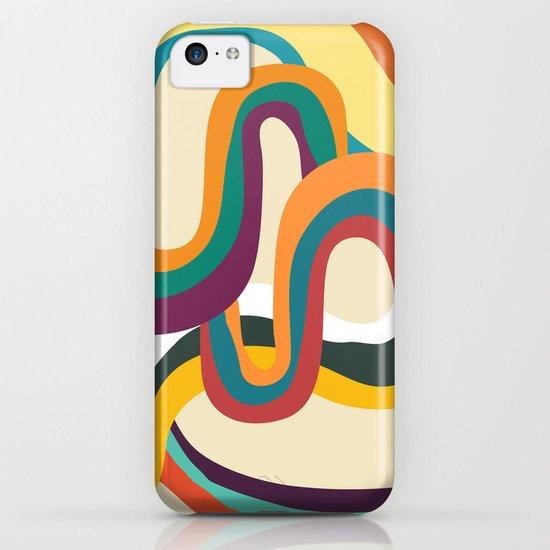 Groovy rainbow of doom iPhone & iPod Case