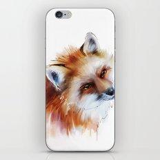 fox in love iPhone & iPod Skin