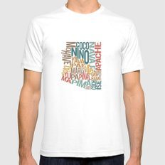 Arizona by County Mens Fitted Tee White SMALL