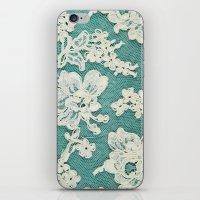 White Lace - Photo Of Vi… iPhone & iPod Skin