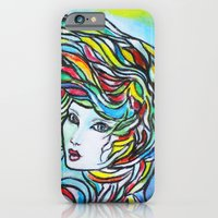 iPhone & iPod Case featuring Threads by Ming Myaskovsky