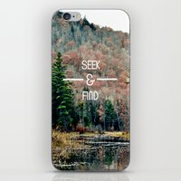 Seek & Find  iPhone & iPod Skin