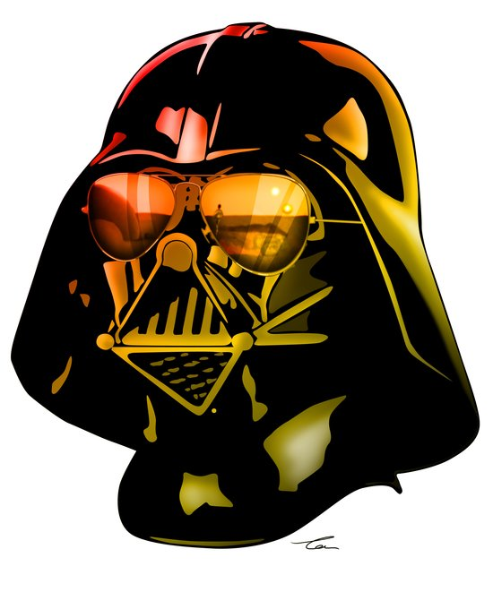 STAR WARS Darth Vader Art Print
