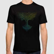 The Tree of Many Things Mens Fitted Tee Black SMALL