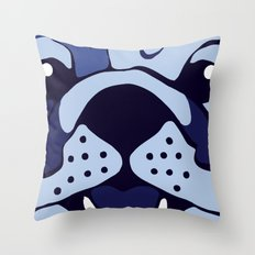Bluedog Throw Pillow