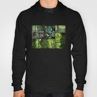 Forest Collage Hoody