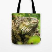 Costa Rican Iguana Tote Bag