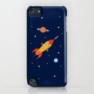 iPhone & iPod Case featuring Spaceship! by Doodle Dojo