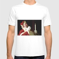 't Was The Night Before … Mens Fitted Tee White SMALL