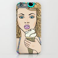 iPhone & iPod Case featuring Windy Day At The Seaside by Deesign