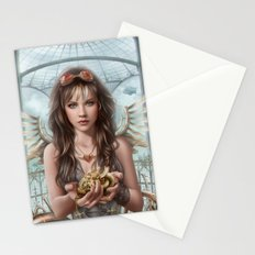 Steam Heart Stationery Cards