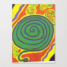 The Swirl of Life Canvas Print