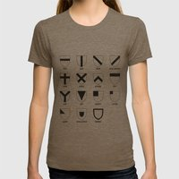 Heraldry Womens Fitted Tee Tri-Coffee SMALL