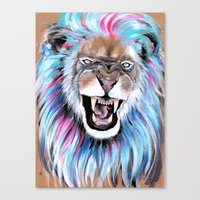 Angry Canvas Print