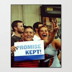 Promise Kept Canvas Print