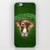 HANG IN THERE iPhone & iPod Skin