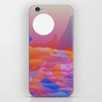 Magic Sunset at D Point iPhone & iPod Skin