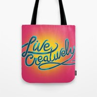 Live Creatively! Tote Bag