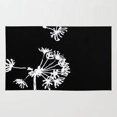 Dandelion 2 Drawing Rug