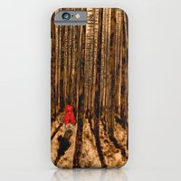 iPhone & iPod Case featuring Little Red Riding Hood by Red Lady Locks