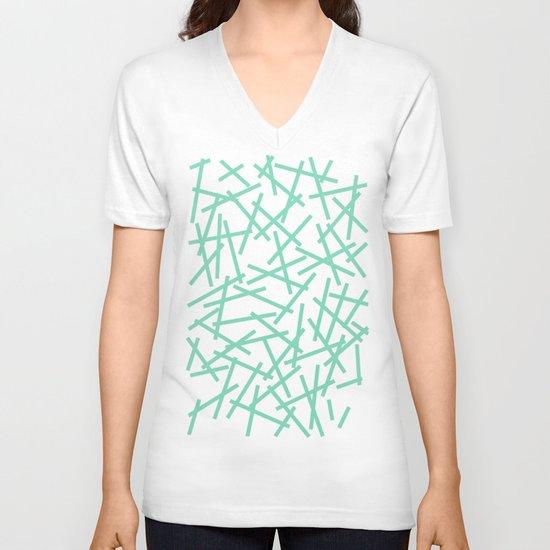 Kerplunk Mint V-neck T-shirt