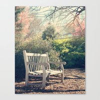 Waiting For You! Canvas Print