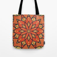 Sugar Lotus Tote Bag