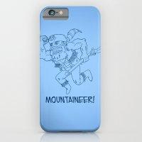 Mountaineer! (blue) iPhone 6 Slim Case