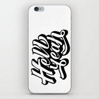 Hell Yeah! iPhone & iPod Skin