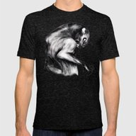 Stay Fierce Mens Fitted Tee Tri-Black SMALL