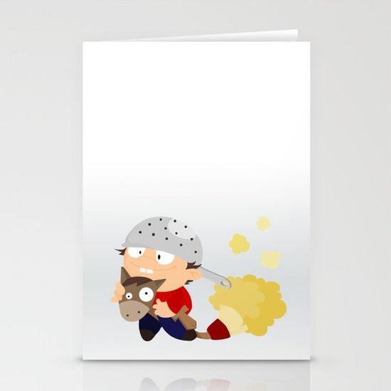 knight Stationery Card