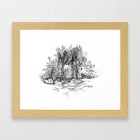Creatures Of Nature Framed Art Print