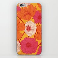 Summer Flowers iPhone & iPod Skin