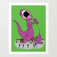 Hey Kids Its Baaaaarrrrrnnneeeeyyy Art Print