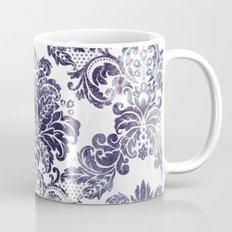 Blueberry Damask Mug