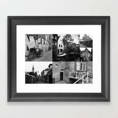 Photo Collage Delft 2 In… Framed Art Print