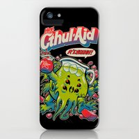 iPhone Cases featuring CTHUL-AID by BeastWreck