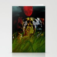Tiger In The Night Under… Stationery Cards